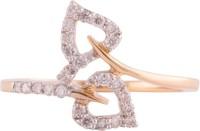 Wite&Gold Sunshine Bypass Yellow Gold Diamond 18K Yellow Gold 18 K Ring