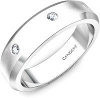 Candere Angelina Band For Her White Gold Diamond 14 K Ring