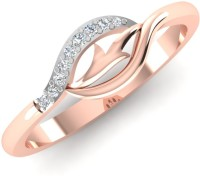 Caratify Daziel Rose Gold Diamond 14K Rose Gold Plated 14 K Ring