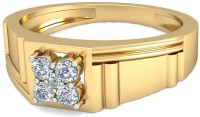 WearYourShine By PCJ The Cornell Diamond Gold Diamond 18K Yellow Gold 18 K Ring