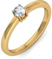 BlueStone The Cyprian Yellow Gold Diamond 14 K Ring