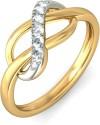 BlueStone The Eavan Gold Diamond Ring