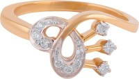 Wite&Gold Simple Elegance Yellow Gold Diamond 18K Yellow Gold 18 K Ring