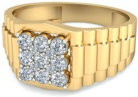 WearYourShine By PCJ The Lachesis Diamond Gold Diamond 18K Yellow Gold 18 K Ring