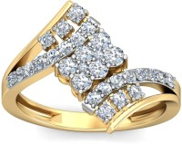 WearYourShine By PCJ The Irisa Diamond Gold Diamond 18K Yellow Gold 18 K Ring