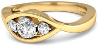 WearYourShine By PCJ The Corisa Diamond Gold Diamond 18K Yellow Gold 18 K Ring