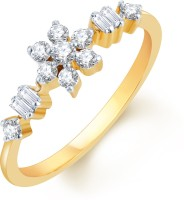 Karatcraft Deliciae Yellow Gold Diamond 18 K Ring