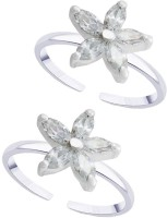 The Jewelry Place Star Theme 925 Sterling Silver Toe Ring