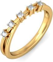 BlueStone The Sifrar Yellow Gold Diamond 14 K Ring