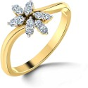 Caratlane Nakshatra Gold Diamond Ring