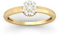 WearYourShine By PCJ The Anais Diamond Gold Diamond 18K Yellow Gold 18 K Ring