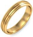BlueStone The True Love Band Gold Ring