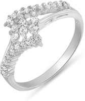 Mahi Especial Alloy Rhodium Plated Ring