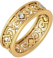 BlueStone The Kyna For Her Yellow Gold Diamond 14 K Ring