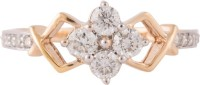 Wite&Gold Chic Tie In Yellow Gold Diamond 18K Yellow Gold 18 K Ring