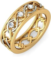 BlueStone The Ciara For Her Yellow Gold Diamond 14 K Ring