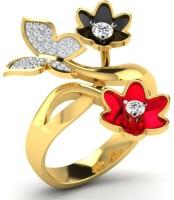 Fullcutdiamond FCDR7743R Yellow Gold Diamond 18K Yellow Gold 18 K Ring