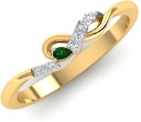 Caratify Mansa Yellow Gold Diamond Yellow Gold 18 K Ring
