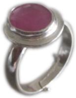 Galaxy Silver Ruby Ring