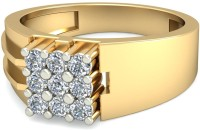 WearYourShine By PCJ The Theimis Diamond Gold Diamond 18K Yellow Gold 18 K Ring