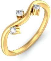 BlueStone The Fabrizia Yellow Gold Diamond 14 K Ring