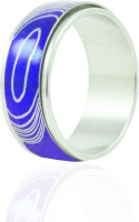Alphaman Make A Lasting Impression Dual Tone Metal, Alloy Ring