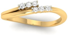 Jewels5 Patricia 18kt Diamond Yellow Gold ring