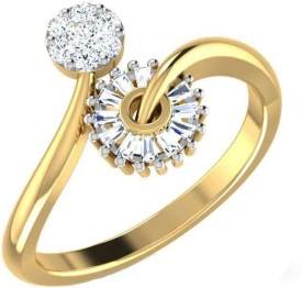 Amantran Jewels Good Thing 14kt Diamond Yellow Gold ring