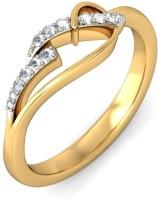 BlueStone The Odette Yellow Gold Diamond 14 K Ring