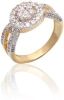 Carati Jewels Yellow Gold Diamond Yellow Gold 14 K Ring - RNGE9Z5UZTGAXKQ4