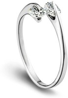 Womanwa Promise Of Love Sterling Silver Sterling Silver Plated Ring