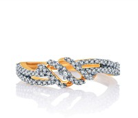 Karatcraft Vezza Yellow Gold Diamond 18 K Ring