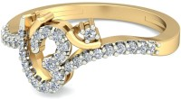 WearYourShine By PCJ The Omyra Diamond Gold Diamond 18K Yellow Gold 18 K Ring