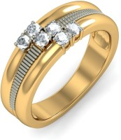 BlueStone The Saturn's Band Gold Diamond 18 K Ring