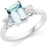 Silvosky Silver Swarovski Crystal Ring