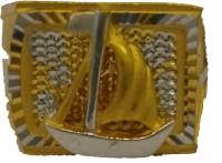 SMJ Yellow Gold 22K Yellow Gold, Rhodium 22 K Ring