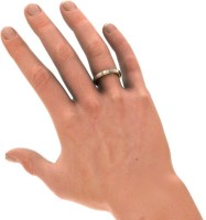 BlueStone The Cosma For Him Yellow Gold Diamond 14 K Ring