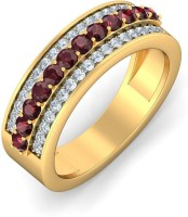 BlueStone The Fashion Finesse Yellow Gold Diamond 14 K Ring