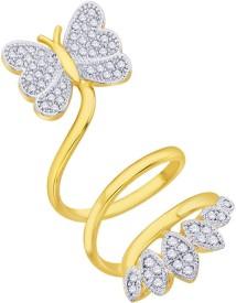 Peora Brass 18K Yellow Gold Ring