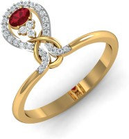 Damor The Exsultant 18kt Ruby Yellow Gold Ring