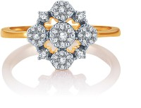 Karatcraft Polaris Yellow Gold Diamond 18 K Ring