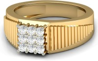 WearYourShine By PCJ The Stian Diamond Gold Diamond 18K Yellow Gold 18 K Ring
