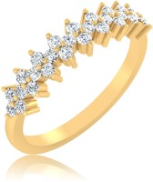 IskiUski Elegance Gold Yellow Gold Plated 14 K Ring