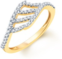 Karatcraft River Delta Yellow Gold Diamond 18 K Ring