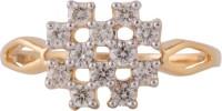 Wite&Gold Versatile Square Yellow Gold Diamond 18K Yellow Gold 18 K Ring