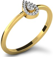 Fullcutdiamond FCDR7803R Yellow Gold Diamond 18K Yellow Gold 18 K Ring