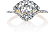 Karatcraft Opulence Yellow Gold Diamond 18 K Ring