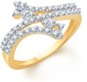 Sukkhi Beguiling Alloy Cubic Zirconia Ring