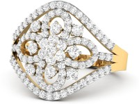 WearYourShine By PCJ The Vaahila 18kt Diamond Yellow Gold Ring