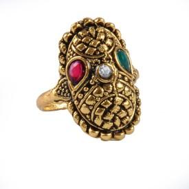 Ankur Brass Yellow Gold Ring